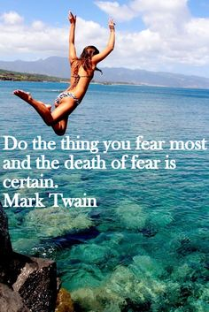 Life has placed me in front of my fear of confrontation again. This time I am going to face it head on... no matter how terrified I might get!
