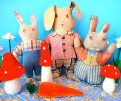 rag rabbits