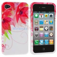 Red Flower #iPhone 4/4S Case - http://getth.at/elatu