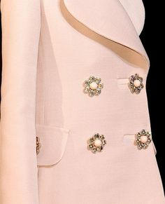Louis Vuitton...amazing buttons!