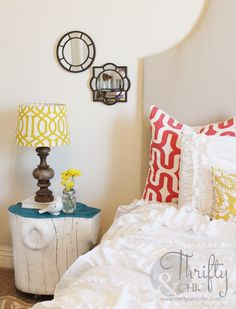 Turn Old Tree Stumps Into Cute Side Tables