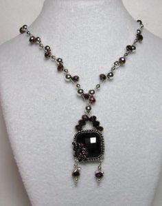Crystal Design, Glass Pendants, Silver Beads, Swarovski Crystals, Weave, Deep, Pendant Necklace, Facebook, Link
