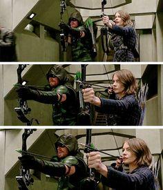 #Arrow - Oliver & Thea #Season4 #4x22