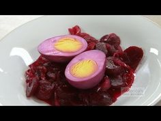 In some families, the recipe for these pretty pickled beet eggs is passed down through generations. Try this variation on a Pennsylvania Dutch classic. Pickled Beets And Eggs, Red Beets, Recipes Appetizers And Snacks, Tailgate Food, Food Hacks, Food Tips, Food Ideas, Spring Rolls, Essen