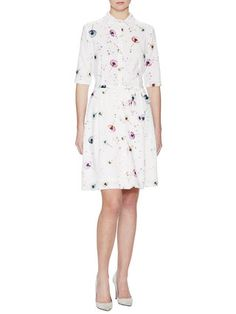 Dandelion Print Shirtdress by Ava & Aiden at Gilt