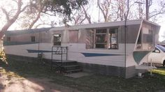 retro mobile homes for sale | 1958 Victor mid century mobile home with time capsule interior