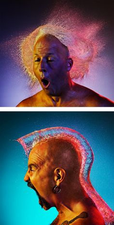 Water Wigs: Photo Series by Tim Tadder