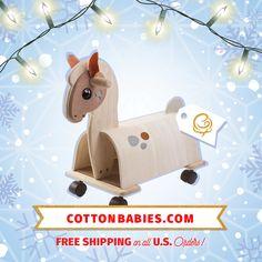 Plan Toys Ride-On Pony