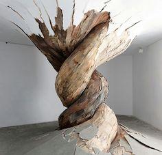 Wood. Puissance du bois et de la spirale
