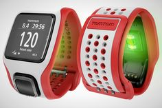 TomTom Runner Cardio sport watch has its finger on your pulse The TomTom Runner Cardio gives rival fitness trackers and smartwatches a run for their money with built-in GPS and heart rate monitoring. Power Walking, Running Watch, Running Gear, Nike Running, Sport Cardio, Gps Sports Watch, Fitness Gadgets, Fitness Watch, Trainer