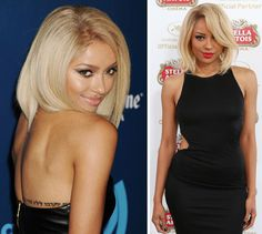 Oh hey, Kat Graham. We're LOVING your blond 'do!