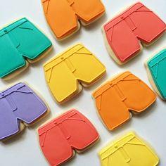 Summer Shorts Sugar Cookies