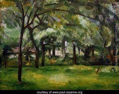 Farm In Normandy  Summer Aka Hattenville - Paul Cezanne - www.paul-cezanne.org