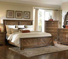 Copper Ridge Panel Bed   #LautersFineFurniture #Bedroomfurniture #Bed #Bedframe