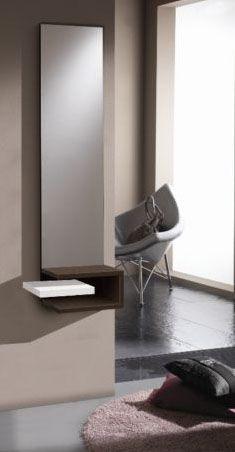 muebles recibidores para entradas pequeas