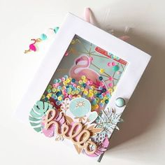 Pin by Jenna on Crafts Mini Album Scrapbook, Mini Albums Scrap, Diy Paper, Paper Crafts, Diy Y Manualidades, Candy Cards, Shaker Cards, Creative Cards, Diy Cards