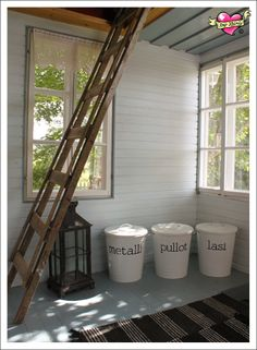 Home Interior, Interior Decorating, Mudroom, Organize, Recycling, Cottage, Organization, Decoration, Summer
