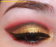 Return of the Look: Gryffindor (Harry Potter) - The Dark Side of Beauty  What a STUNNING LOOK. She is quite talented!