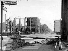 Leipziger Platz u.Leipzigerstrasse Berlin 1956