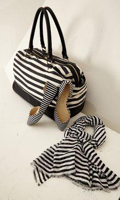 Travel in style...stripes accessories