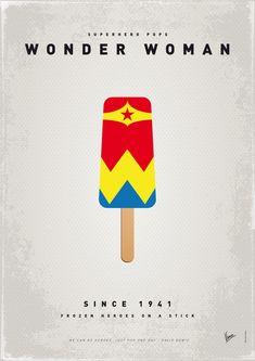 Superhero Ice Pop - #Wonderwoman