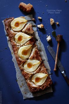 Gluten-Free Pear Tart from @Bakers Royale | Naomi