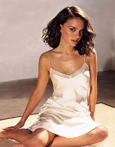 Natalie Portman in Satin Camis... is listed (or ranked) 1 on the list The 34 Hottest Natalie Portman Photos
