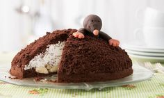 Maulwurfkuchen - Sanella - Kindergeburtstag