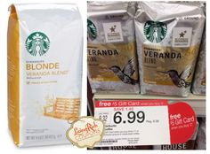 Starbucks Bagged Coffee as Low as $3.32 at Target! - http://www.livingrichwithcoupons.com/2014/02/target-starbucks-deal-332.html