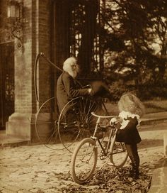 bicycles, young and old
