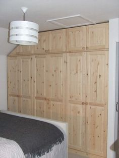 Fitted wardrobes Cornwall. Our talented team made this beautiful fitted wardrobe exclusively for one of our customers.