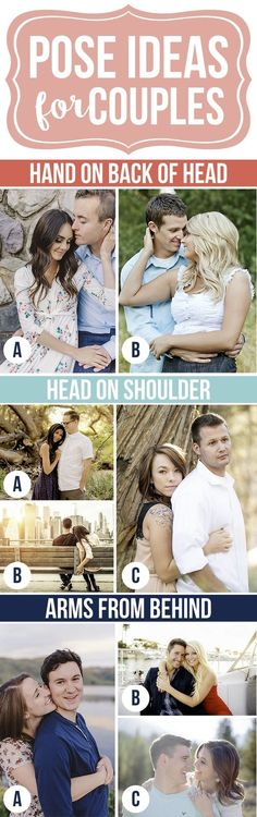 Pose Ideas for Couples Pictures