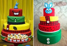 Sugestões incríveis de convites, doces, bolos, lembrancinhas e decorações para uma festa Turma da Mônica Toy inesquecível! Vem dar uma espiada!