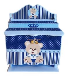 Regalo Baby Shower, Kit Bebe, Decoupage Box, Toy Boxes, Toy Chest, Storage Chest, Toddler Bed, Toys, Furniture