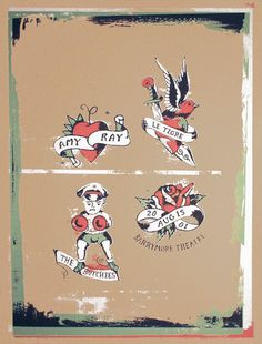 GigPosters.com - Amy Ray - Butchies, The - Le Tigre