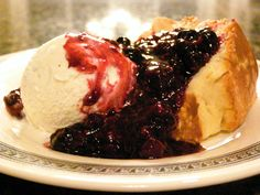 Never Fail Pound Cake with Warm Berry Compote - I've made hundreds, maybe thousands, of pound cakes and this is my all-time favorite recipe. With or without the berry compote.
