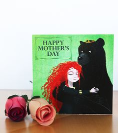 Brave Mother S Day Card