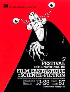 Festival International du Film Fantastique et de Science-Fiction de Bruxelles 1987 (by Franquin)