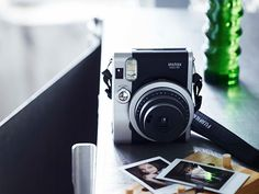 "instax mini90 | FUJIFILM   Fuji Instax Mini 90 ""Neo Classic"" Due in 2014, this new Fuji Instax camera has stylings that harken more towards the cameras we here use every day, has power settings for multiple exposure, Bulb mode, and more"