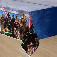 Star Wars Generation Tablecover (includes 1 plastic rectangular tablecover in a pack)