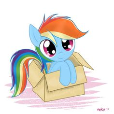 cute rainbow dash - Google Search