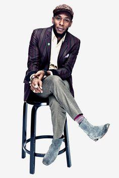 The always fashionable Yasiin Bey (Mos Def) Black Men, Rebel Fashion, Fashion Black, Men Fashion, Sharp Dressed Man, Well Dressed Men, Balenciaga, Mos Def, Craving Chocolate