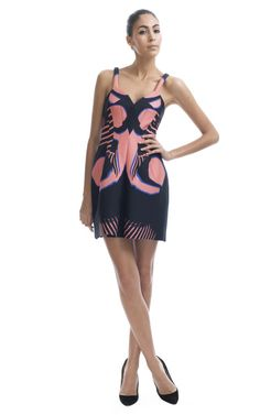 Surf Vertebrae Tank Dress by Josh Goot - Moda Operandi