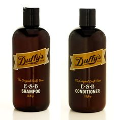 duffy's brew: craft beer shampoo and conditioner.  YES!!! Now I've seen it all (beer wise that is).