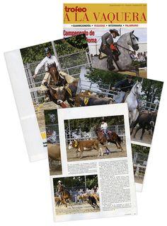 Reportaje fotográfico para la revista Trofeo a la Vaquera