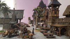 Medieval port - Wargaming