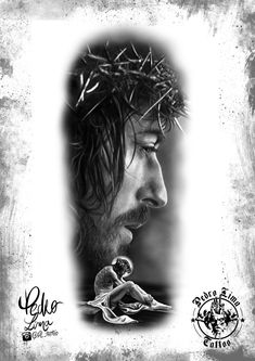 Small but Effective Tattoos for Men – Franklin Maine Tattoos God Tattoos, Body Art Tattoos, Sleeve Tattoos, Religious Tattoos, Religious Art, Maine Tattoo, Russian Prison Tattoos, Christ Tattoo, Pictures Of Jesus Christ