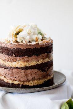 Momofuku German Chocolate Cake - THe Brick Kitchen