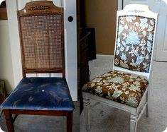 DIY Chair Recovered A Cinderella Story
