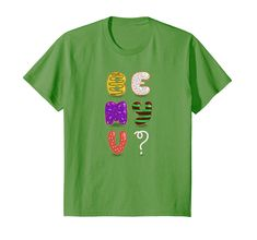 Amazon.com: Be my Valentine? Sweet donuts letters: Clothing